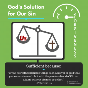 God's Remedy for Our Sin